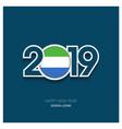 2019 sierra leone typography happy new year