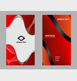 business cards design vector image vector image