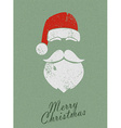 Christmas Santa background vector image vector image