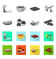 food and yummy logo set of vector image
