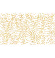 handdrawed outline pattern from christmas trees vector image