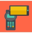 Internet shopping with smartphone vector image