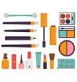 makeup icons perfume mascara care brushes comb