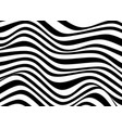 psychedelic lines stripes pattern wavy texture vector image vector image