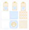 Scrapbook design elements Valentines for design vector image vector image