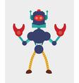 Robot design vector image