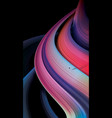 abstract gradient stripe background vector image