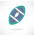 American football symbol eps 10 vector image