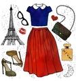 Fashion vector image vector image