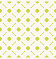 green geometric bright colorful seamless pattern vector image vector image