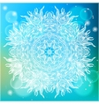 Ornamental of a mandala vector image