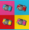 pop art concept cartoon vector image vector image