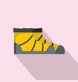 river boots icon flat style vector image vector image