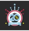 Twenty discount icon Sales design template vector image vector image