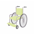 Wheelchair icon cartoon style vector image