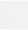 white mosaic grid background vector image vector image