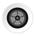 car wheel icon circle vector image