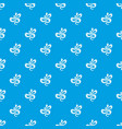 black dotted snake pattern seamless blue vector image vector image