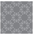 dark gray seamless pattern with vintage ornament vector image vector image
