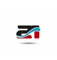 Number 20 swoosh design template logo vector image