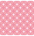 stars shape pattern dark pink background vector image
