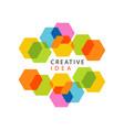 educational center or business hub creative idea vector image