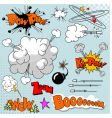Set of comic elements vector | Price: 1 Credit (USD $1)