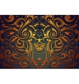 Abstract ornamental background vector image vector image