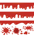blood flowing vector image
