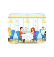 couple love meeting communication concept vector image