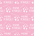 hashtags i love me and love yourself positive vector image vector image