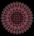 mandala design aboriginal dot painting s vector image vector image