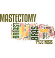 mastectomy bras can give you back your confidence vector image vector image