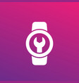 watch repair icon vector image vector image