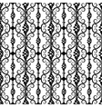 wrought iron pattern vector image vector image