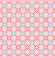 decorative geometric pattern in pink vector image