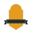 Banner icon Retro label design graphic vector image vector image