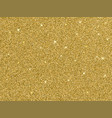 gold glitter background texture vector image vector image