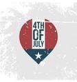 Independence Day 4th of July vintage Banner vector image vector image