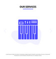 our services controller hardware keyboard midi vector image vector image