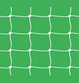 seamless pattern of soccer goal net or tennis net vector image vector image