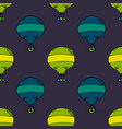 balloon seamless pattern vector image vector image