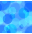blue bokeh abstract seamless pattern vector image vector image