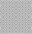 Hexagons texture vector image