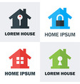House Logo Design Concepts vector image