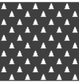 Stylish abstract seamless pattern with black vector image