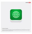 world globe icon vector image vector image