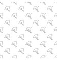 dolphin pattern seamless vector image