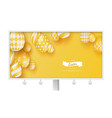 holiday banner billboard celebrate of happy vector image vector image