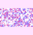 random abstract chaotic mosaic pattern background vector image vector image